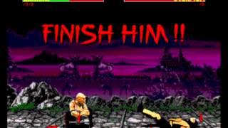 Mortal Kombat II - Mortal Kombat 2 (GEN) First Steps HD - User video