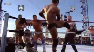 Randy Orton John Cena Rey Mysterio VS Wade Barrett The Miz Alb…