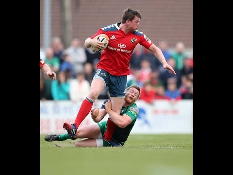 Denis Hurley Try from Duncan Williams magic - Connacht v Munster 19th April 2014