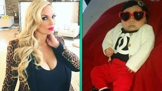 Coco Austin Shares Snap of Baby Chanel Rocking Baby Louboutins!