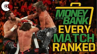 Every Money In The Bank Match Ranked From WORST To BEST