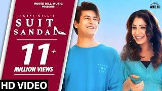 SUIT SANDAL : Harpi Gill feat Manjul Khattar | Latest Punjabi Song 2020 | Punjabi Romantic Songs