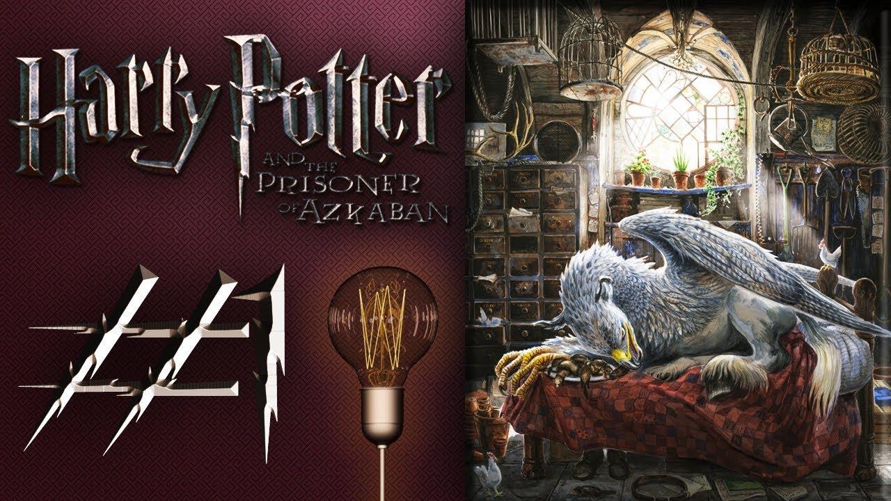 Первый урок и багованный чертик! Гарри Поттер и Узник ...
