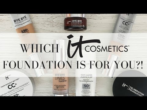 IT COSMETICS FOUNDATION REVIEW AND COMPARISON | Which Is BEST For YOU?!