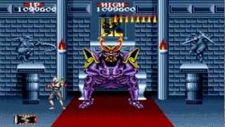 Shadow Dancer Completed No Magic No Miss Hardest Megadrive