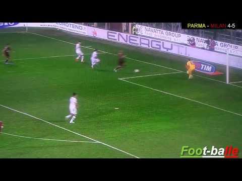 Jeremy Menez   gol fantastico di tacco in Parma Milan 4 5   YouTube