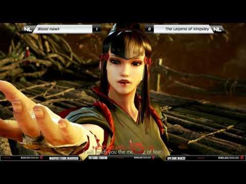 Losers Final: Blood Hawk (Kazumi) vs Kingsley (Feng) - NLBC v.74 - Tekken 7 [1080p/60fps] HD