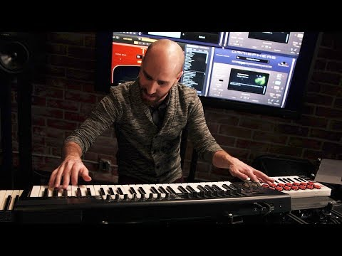 OMNISPHERE - GLASYS: Man with No Sequencer!