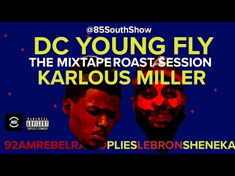 DC Young Fly Mixtape Roast Session - Ghetto Grammys - Immigration Freestyle If You Didn't Know Me -