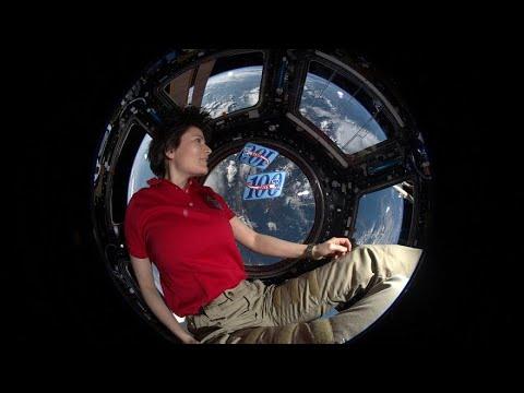 الإيطالية سامانتا كريستوفوريتي تنضم سنة 2022 إلى محطة الفضاء الدولية  - 09:00-2021 / 3 / 4