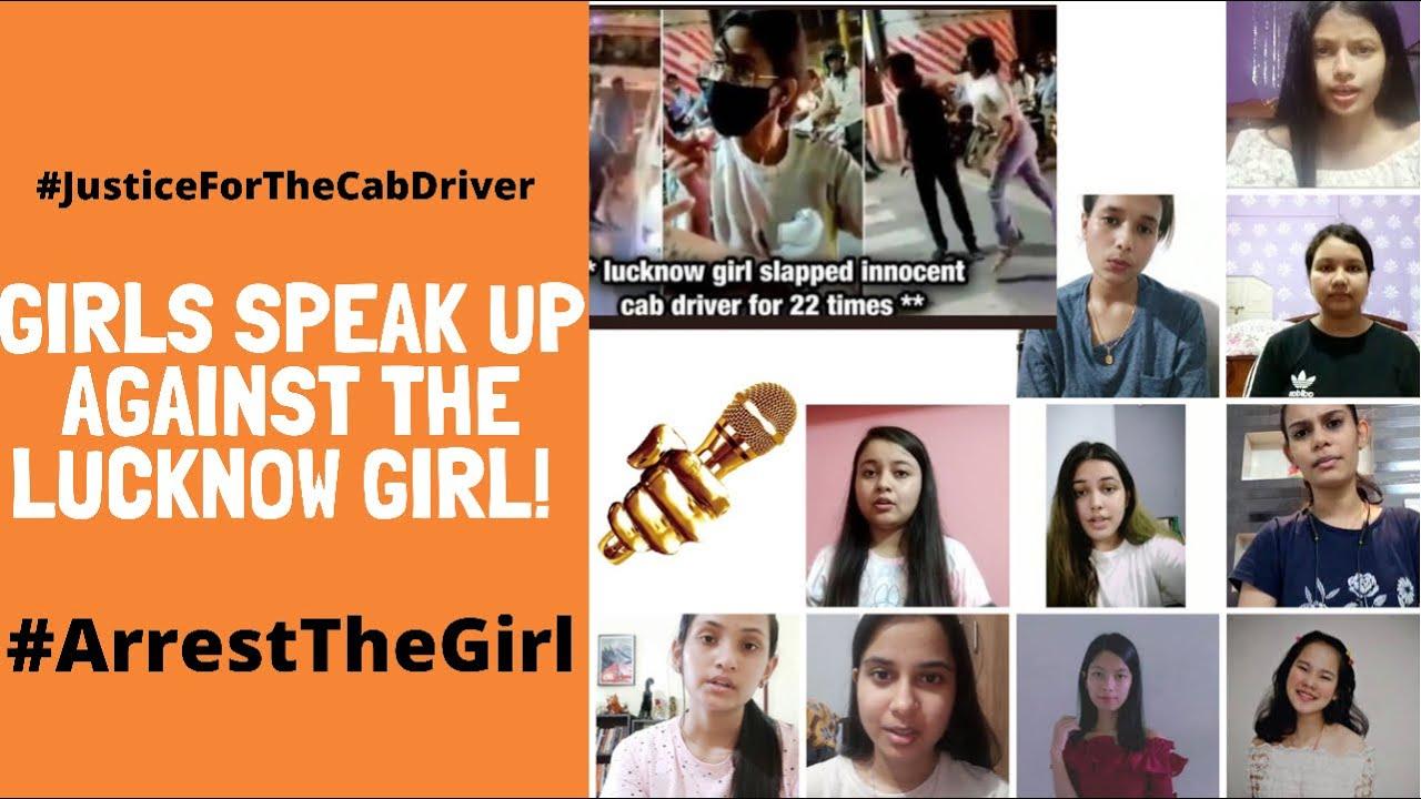 Girls speak up against the #LucknowGirl | #ArrestTheGirl | #CabDriverIncident