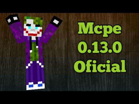 Minecraft Pe 0.13.0 Oficial Download Apk