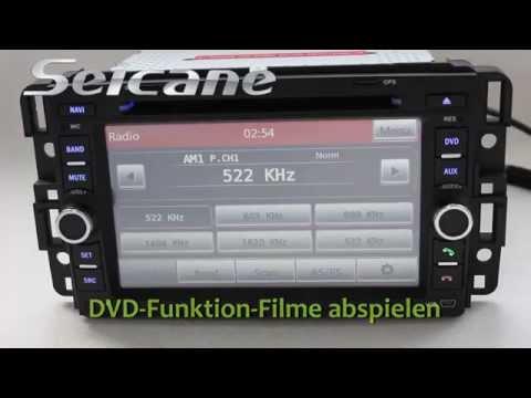 Original Chevrolet Suburban Stereoanlage Upgrade mit Radio DVD GPS-Navigationssystem MP3