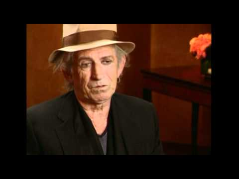 Keith Richards interview on recording songs at  Villa Nellcote