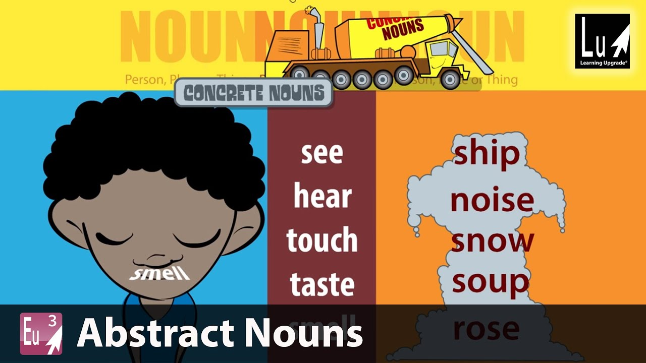 Abstract Nouns Song Learn Grammar Learning Upgrade App Youtube