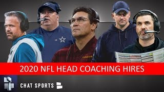 NFL Head Coaches Hired: Grades For Kevin Stefanski, Joe Judge, Mike McCarthy, Matt Rhule, Ron Rivera