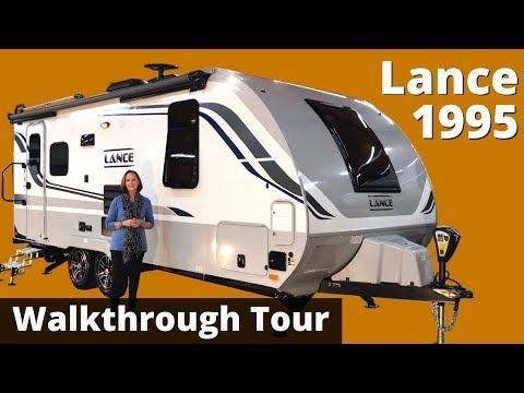 The 2020 Lance 1995 Travel Trailer Walkthrough Tour