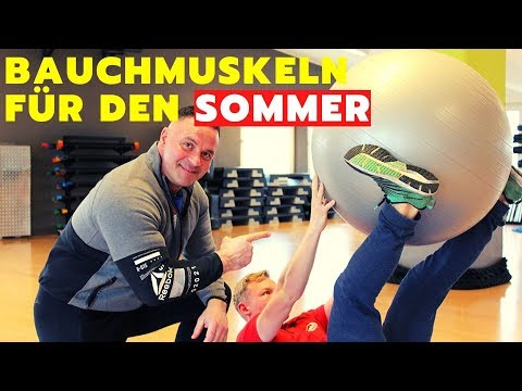 BAUCHMUSKEL WORKOUT | Tutorial thumbnail