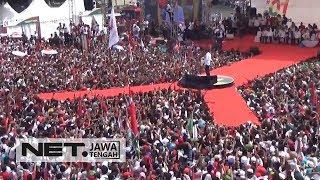 Gunakan Bahasa Ngapak, Jokowi Sapa Warga Banyumas - NET JATENG