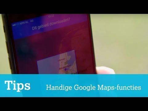 5 handige tips voor Google Maps