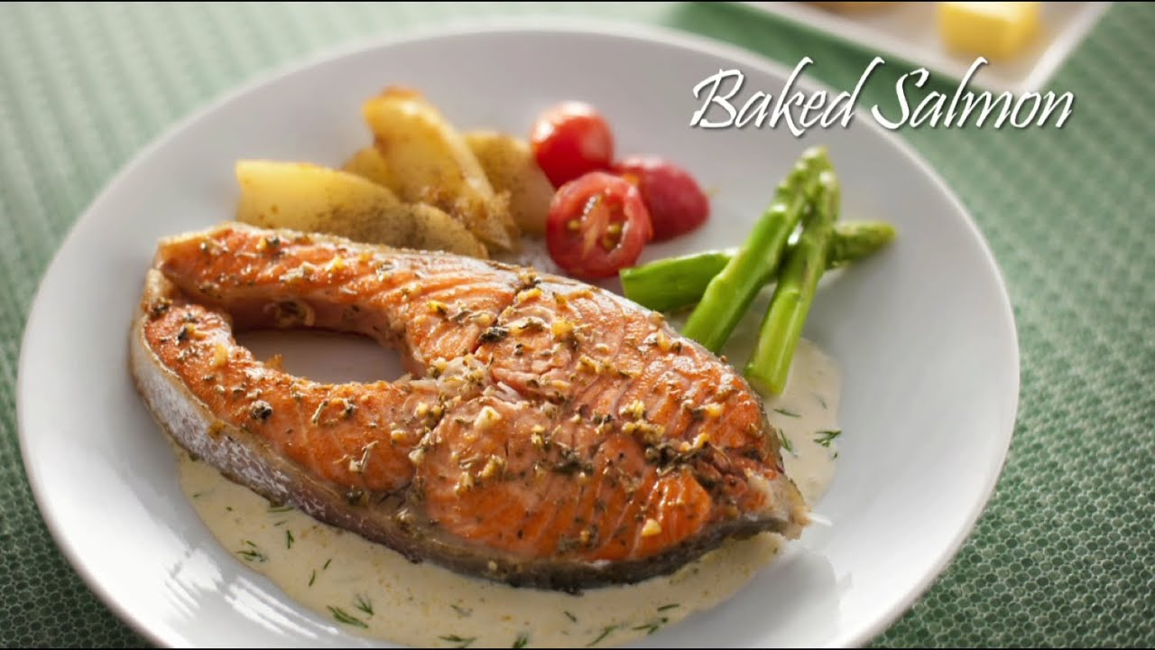 Tasty Treat Salmon Bakar Baked Salmon Youtube