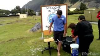 Ice Bucket Challenge on Tristan da Cunha