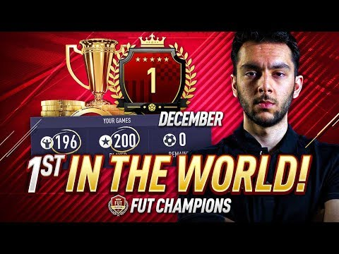 1st IN THE WORLD FOR THE MONTH OF DECEMBER | FUT CHAMPIONS GAMEPLAY!!