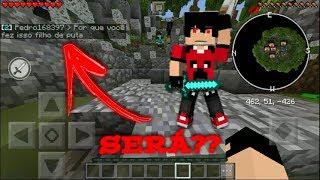 SKYWARS-Fui usar hack e o cara xingou minha mãe?? (Minecraft Pocket Edition)