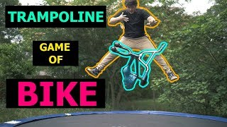 CRAZY TRAMPOLINE GAME OF BIKE