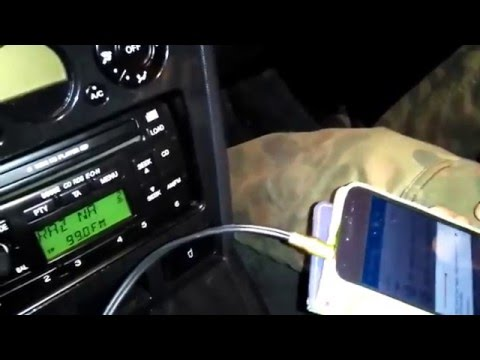 Ford CD Player 6006e AUX Input