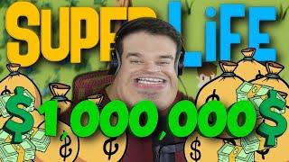 ZARADIO SAM 1,000,000 I IZGUBIO SVE!!! (Super Life)