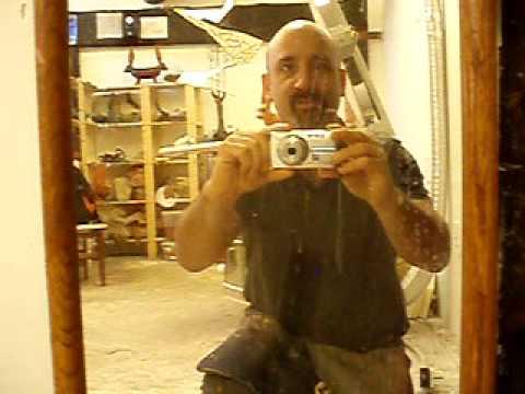 Tony Furtado's sculpture studio!