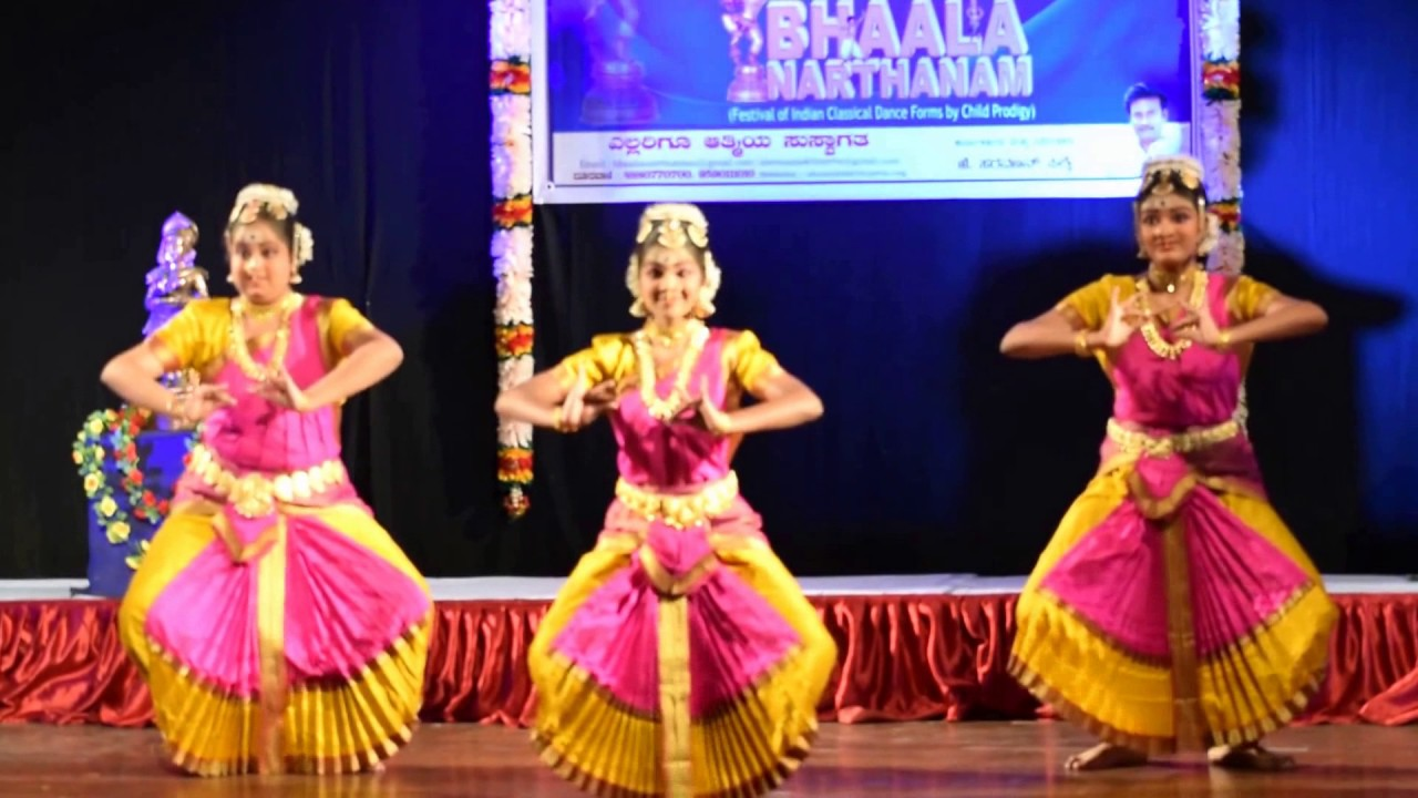 b8c74df2bc76e Bhaala Narthanam [ Festival of Indian Classical Dance Forms by Child  Prodigy]