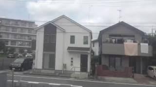 【新京成線】新鎌ヶ谷~松戸間、右側車窓  Shinkamagaya  Matsudo