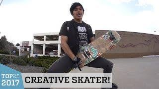 Incredible Pro Skateboarding Tricks | Top 25 of 2017