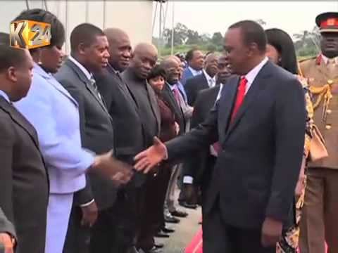 President Kenyatta In Equatorial Guinea For 2-Day Official Visit