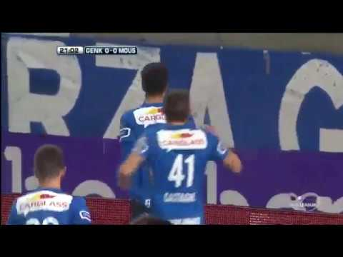 Genk   Royal Excel Mouscron  ~ 1   0 ~  Goal José Naranjo BELGIUM׃ Jupiler League   04 02 2017