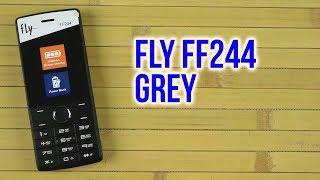 Распаковка Fly FF244 Grey