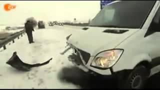 Man erklärt Unfall A20