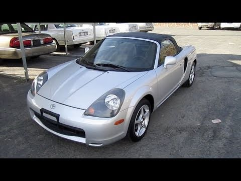 Short Takes 2001 Toyota Mr2 Spyder Start Up Engine Tour