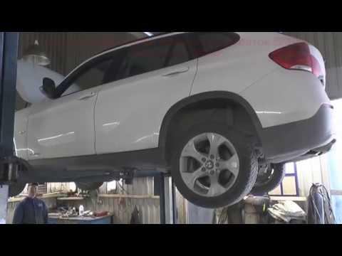 Первичные признаки износа подшипников переднего редуктора BMW X1 (слушаем до и после)