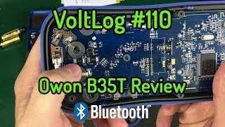 Voltlog #110 - Owon B35T Bluetooth Multimeter Review