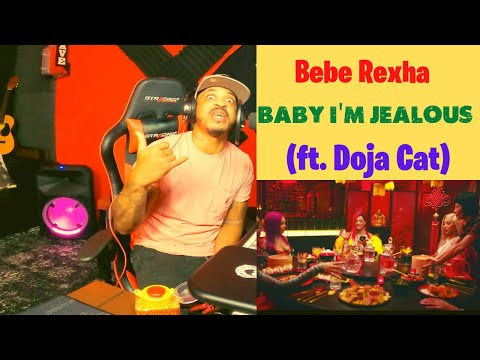 Bebe Rexha - Baby, I'm Jealous (ft. Doja Cat) [Official Music Video] | Kito Abashi Reaction