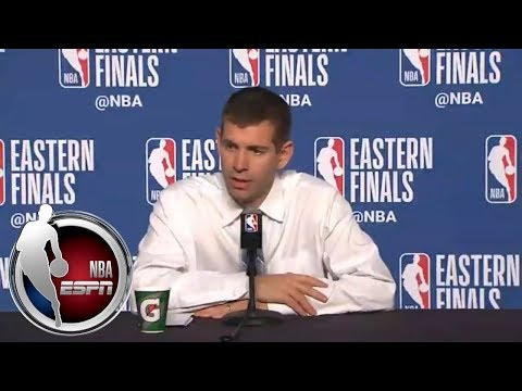 [FULL] Brad Stevens praises LeBron's passing ability | NBA on ESPN