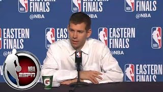 [FULL] Brad Stevens praises LeBron's passing ability | NBA on ESPN