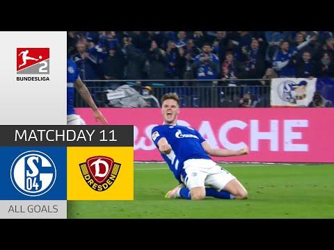 Schalke SG Dynamo Dresden Goals And Highlights