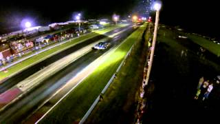 Bad Intentions,  night time at Magnolia Dragstrip 7 12 2014