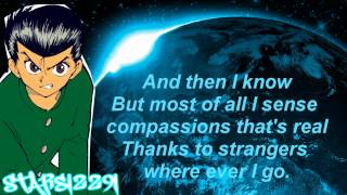 Yu Yu Hakusho Opening English Lyrics (HD)