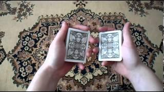 Обучение новому трюку с картами !!