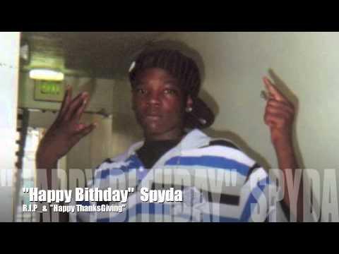 Happy Birthday Spyda